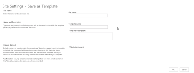 How to Save a Subweb/Site as Template in SharePoint 2013 ...